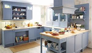Echtholz Arbeitsplatte Küche : landhaus einbauk che spinell achatblau k chen quelle ~ Michelbontemps.com Haus und Dekorationen