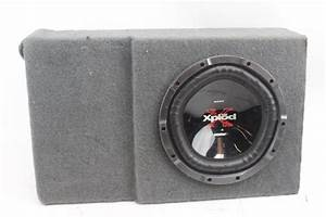 Sony Xplod 1200w Subwoofer In Speaker Box