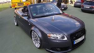 Audi A4 Tuning : audi a4 b7 cabriolet g ride vossen wheels walkaround showcar tuning youtube ~ Medecine-chirurgie-esthetiques.com Avis de Voitures