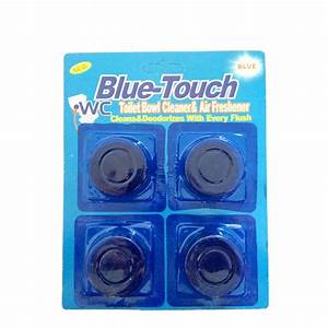 Toilet Bowl Blue Freshener