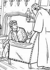 Harry Potter Coloring Desenhos Fudge Colorir Cornelius Dibujos Disegni Kolorowanki Colorear Pobarvanke Ausmalbilder Dzieci Dla Stampare Pobarvanka Coloriage Colouring Pintar sketch template