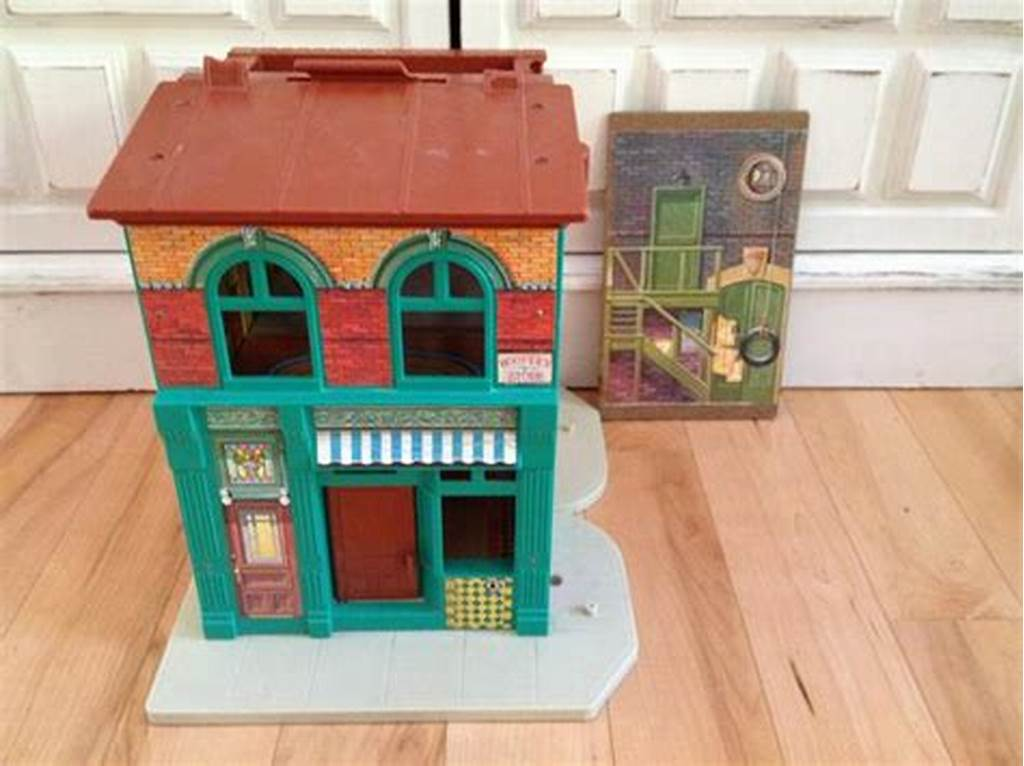 #Vintage #Fisher #Price #Sesame #Street #Playhouse #Maple #Bay