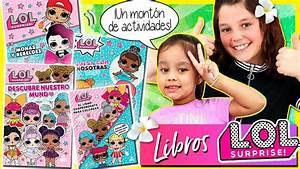 Nuevos Libros De Las Mu U00d1ecas Lol Surprise    Ud83d Ude0dpegatinas Y