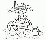 Coloring Printable Seasons Colouring Swimming Sheets Drawing Drawings Printables Safety Kid Kitty Hello 4kids Beaches Popular источник Coloringhome sketch template