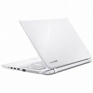 Ordinateur Portable Toshiba Blanc : toshiba satellite l50 b 13d blanc pc portable toshiba sur ~ Melissatoandfro.com Idées de Décoration