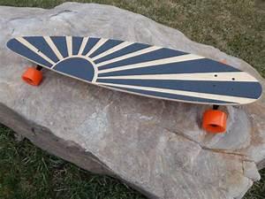 Longboard with custom Grip Tape by SpeedSticks on Etsy ...