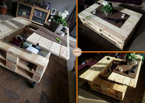 diy craft project lift top pallet coffee table find fun