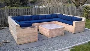 Bauanleitung Lounge Sofa : garten lounge aus paletten bauen ~ Michelbontemps.com Haus und Dekorationen