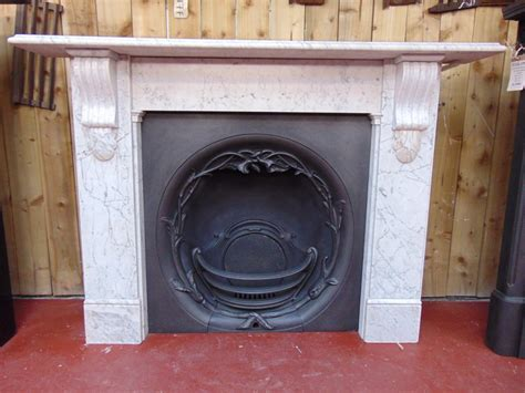 antique victorian marble fireplace surround ms