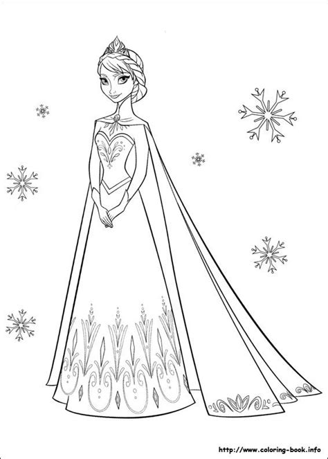 disney frozen coloring picture pages frozen pinterest