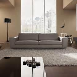 designer sofas designer grey leather sofa