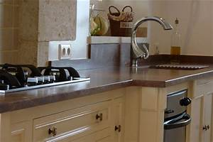 davausnet plan de travail cuisine granit beige avec With cuisine avec plan de travail en granit