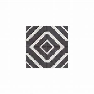 Carreaux De Ciment Noir Et Blanc : carreau de ciment color motif 4 carreaux noir et blanc ~ Dailycaller-alerts.com Idées de Décoration
