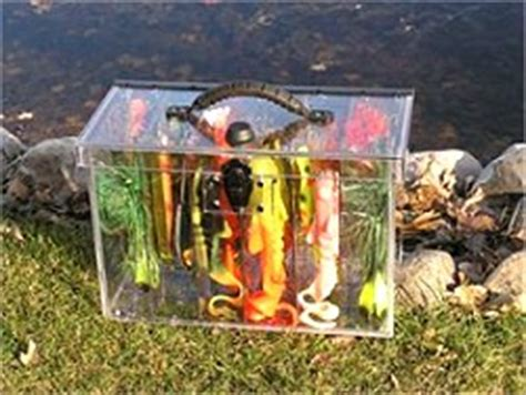 fishing tackle boxes  storage learning   fish