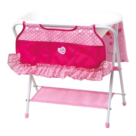 table 224 langer et baignoire bebe king jouet accessoires de poup 233 es bebe poup 233 es