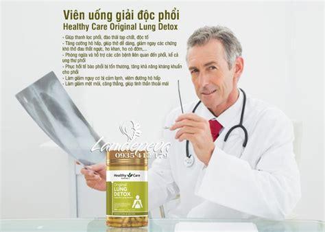 Viên Giải độc Phổi Healthy Care Original Lung Detox 180