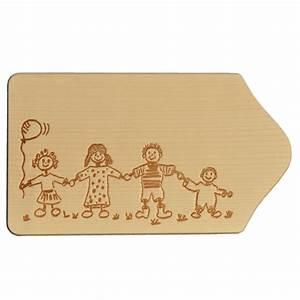 Frühstücksbrett Mit Foto : fr hst cksbrettchen holz mit gravur motiv familie zum selbstgestalten bemalen ~ Sanjose-hotels-ca.com Haus und Dekorationen