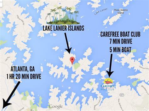 Carefree Boat Club Lake Lanier Cost by Lake Lanier Islands Carefree Boat Club