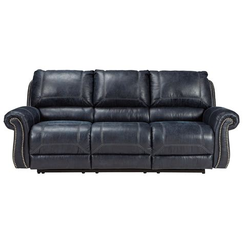 sectional sofa with nailhead trim faux leather reclining sofa with rolled arms nailhead