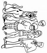 Scooby Doo Coloring Pages Print sketch template