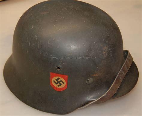 nice wwii german  dd combat police helmet