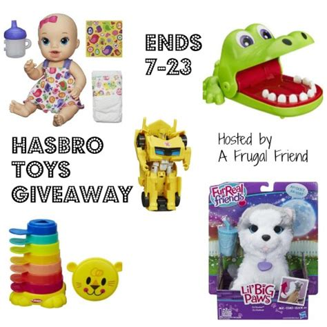 pininterest frugal friendship hasbro toys summer giveaway playlikehasbro finding debra