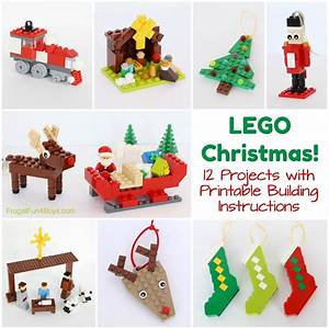 Christmas Projects To Build With Lego U00ae Bricks  U2013 Printable