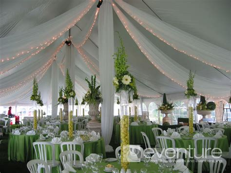 Draping Poles - tent liners draping from eventure designs toronto