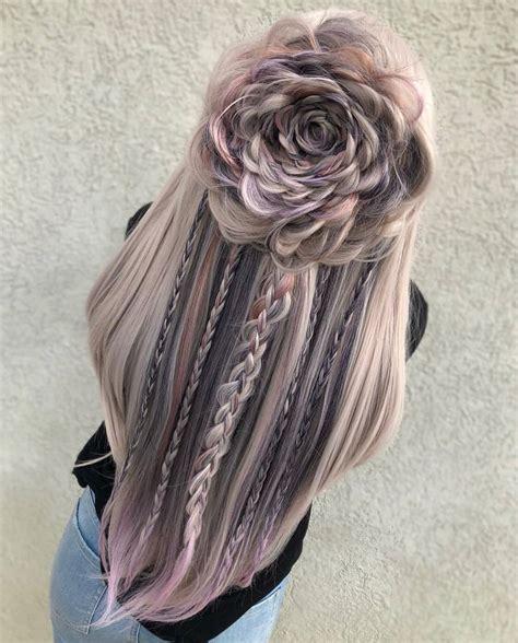 amazing braided hairstyles  long hair  women