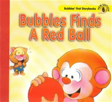 Bubbles Finds A Red Ball   Children Book Review