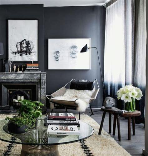 idee peinture salon gris un salon en gris et blanc c est chic voil 224 82 photos qui en t 233 moignent
