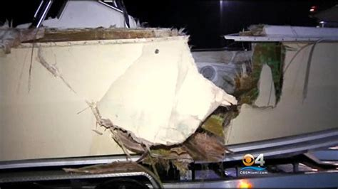 Dinner Key Boat Crash by Fwc Four Dead After Boat Collision Dinner Key 171 Cbs Miami