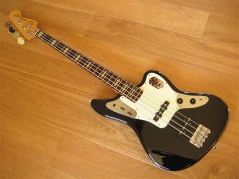 Fender Jaguar Mij by Fender Jaguar Deluxe Bass Mij Made In Japan Black