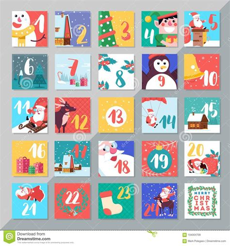 Advent Cartoons, Illustrations & Vector Stock Images