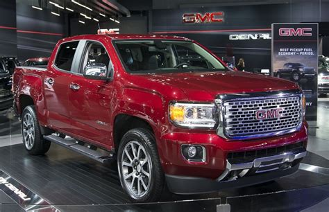 2018 Gmc Canyon Diesel  Changes And Specs 20182019
