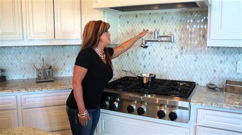 kitchen design pot filler faucet youtube