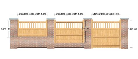 4ft High X 6ft Wide Fence Panel The Baywood