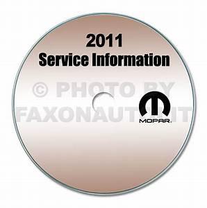 2011 Chrysler 200  Dodge Avenger Repair Shop Manual Cd