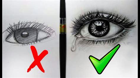 Que hacer y No hacer al dibujar ojos Realistas/ Sencillos