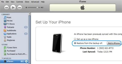restore iphone from itunes how to restore from iphone backup with itunes and icloud