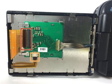 Canon Powershot Lcd Screen Replacement Ifixit