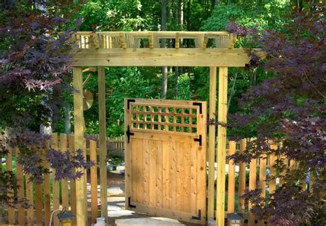 Garden Fence And Gate Ideas plan your great garden fences and gates ideas