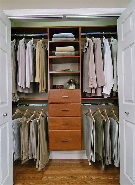 Small Walk In Closet Organization  Home Design Ideas