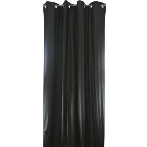 rideau isolant thermique rideau isolant phonique et thermique 150x260 pret 224 poser noir made in tissus