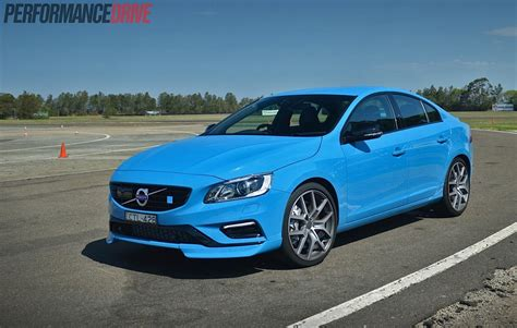 Where Is Volvo From by 2015 Volvo S60 V60 Polestar Review Australian Launch