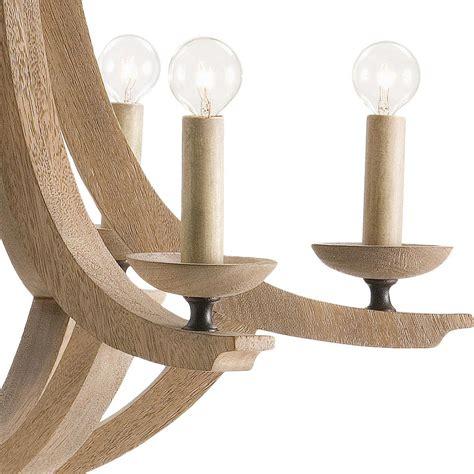 Modern Wood Chandelier by Anjou Coastal Modern Wood Drop Chandelier Kathy