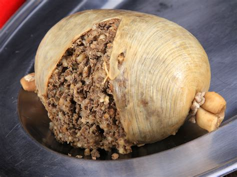 cuisine made in the offal haggis returns to canada but the