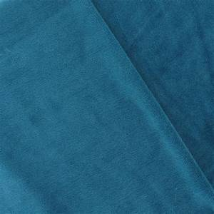 Tissu Velours Bleu Canard : tissu velours ponge jersey bleu canard x 10cm ma petite mercerie ~ Teatrodelosmanantiales.com Idées de Décoration