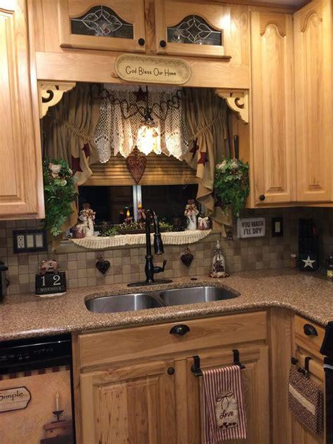 cortinas  cocinas disenos rusticos modernos