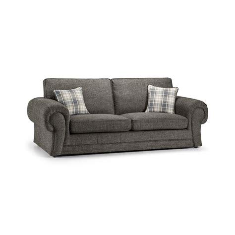 wilcot check three seater sofa